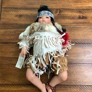 Indian porcelain doll